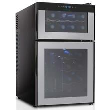 Electric Wine Cooler   Dual Zone Wine Chilling Refrigerator Cellar