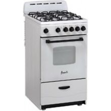 Avanti 20  White Freestanding Gas Range