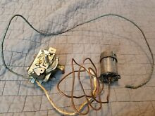 Vintage frigidaire imperial stove flame tender burner switch and thermostat