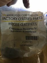 NEW IN PACKAGE Whirlpool Refrigerator Cold Control Thermostat 2325701