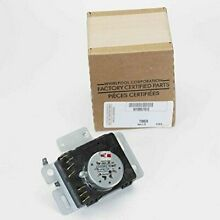 Whirlpool W10857612 Dryer Timer  Small  Black