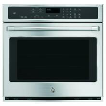 GE Cafe Self cleaning Oven True Convection 30  Electric Wall Oven Stainless Stl