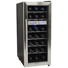 Edgestar   21 Bottle Free Standing Dual Zone Wine Cooler
