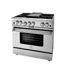 BlueStar 36  Platinum Series Stainless Steel Freestanding Gas Range