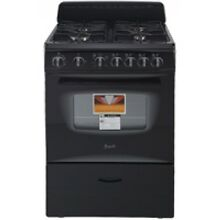 Avanti 24  Black Freestanding Gas Range