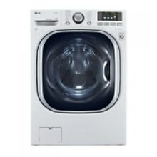 LG 4 3 Cu  Ft  All In One White Front Load Washer And Dryer Combo
