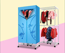 Blue Mute Home Portable Energy saving Rotary Control Electric Air Clothes Dryer