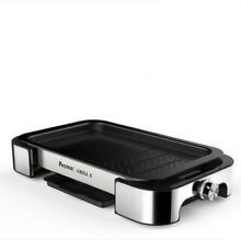 Electric Oven BBQ Grill Barbecue Black Multifunction Small Kitchen Appliances