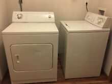 Washer and dryer set  used  working condition  Whirpool  Full size  Electric