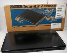 New Jenn Air Designer Range Stove Cooktop Gas Grill Cartridge Cover Black AG341B