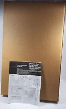 New OEM GE Built In Microwave Oven Trim Kit 27  Stainless JX827SS