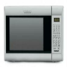 Cuisinart 1 2 Cubic  Ft  Microwave Convection Oven and Grill  Stainless Steel