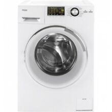 Haier White Front Load Washer And Dryer Combo