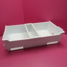 1 MAYTAG  REFRIGERATOR UPPER FREEZER BIN W10704090  29 3 4  WIDE BY 19 5 8  DEEP