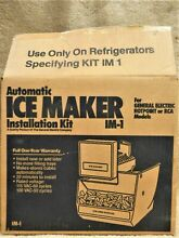 GE IM 1 ICE Maker INSTALLATION KIT For GE  Hotpoint    RCA Refigerators