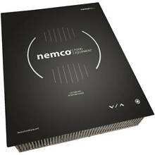 NEMCO 1800W DROP IN INDUCTION COOKTOP  INTEGRATED TOUCH CONTROLS  120V 9110