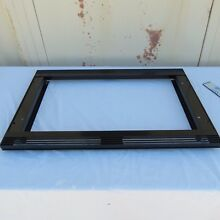 Wolf 817992 E Series 30 Inch Black Glass Trim Kit MS24 or MW24 Microwaves AS IS