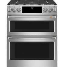 GE Cafe 30  Dual Fuel Double Oven Range w  Convection Stainless Steel NEW