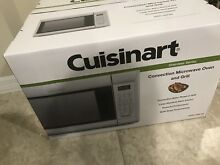 Cuisinart Stainless Steel 1 2 Cu  Ft  Convection Microwave Oven