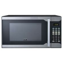 NEW Oster 0 7 Cu  Ft  700 Watt Microwave Oven   Stainless Steel