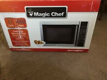 Magic Chef 1 1 Cu  Ft  1000 Watt Microwave Oven in Stainless Steel   MCM1110ST