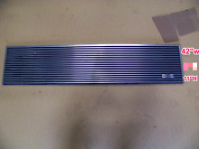 SUB ZERO used  6LG4211 42 x11  top louvered grill 600series 642 680 685 list 329