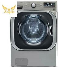 By LG High Efficiency Front Load Washer with Steam and TurboWash Top Quality