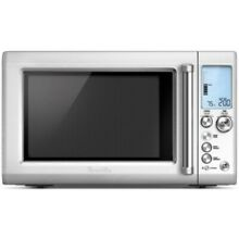 Breville 1 2 Cu Ft Quick Touch Stainless Steel Countertop Microwave