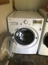 LG Front Load HE Washing Machine 1 year old   Moving   will not fit new space