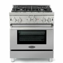 Cosmo COS GRP304 30  Convection Gas Range Stainless Steel