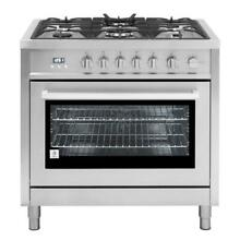 Cosmo 965AGFC 36  Gas Range 5 Burner Stainless Steel