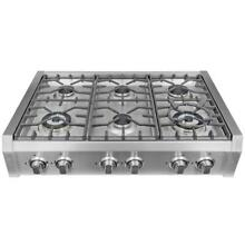 Cosmo S9 6 36  Gas Rangetop Stainless Steel