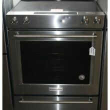 KitchenAid KSEG700ESS 30 Inch 5 Element Electric Slide In Convection Range