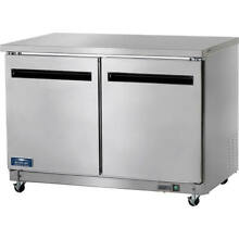 ARCTIC AIR DOUBLE DOOR UNDERCOUNTER   WORKTOP REFRIGERATOR STAINLESS STEEL