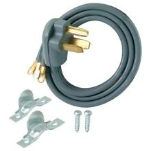 Dryer Cord 3 Prong 10 ft  Universal Eyelet Terminals Extension Part Accessory