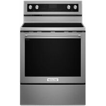 KitchenAid 30  Stainless Steel Freestanding Electric Range