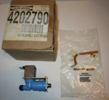 NEW OLD STOCK SUB ZERO WATER INLET VALVE 4202790 FOR REFRIGERATOR ICEMAKER WOLF