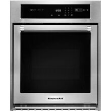 KitchenAid 24  Stainless Steel Single Wall Oven