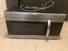 LG 1 7 Cu Ft  over The Range Microwave Oven LMV1762ST Stainless Steel