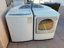 GE PROFILE HARMONY TOUCH SCREEN KING SIZE CAPACITY WASHER   ELECTRIC DRYER EUC