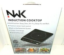 NWK NuWave Kitchen Induction Cooktop Soup  Stew  Stir fry  Deep fry  and Boil