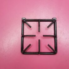 1 WHIRLPOOL GAS RANGE BLACK BURNER GRATE  8 5 8  x 8 1 4  4320719