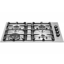 Bertazzoni 30  Master Series Stainless Steel Drop In Gas Cooktop