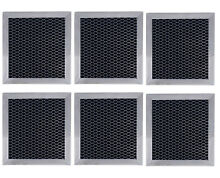 6  Compatible with Whirlpool 8206230A Microwave Hood Charcoal Filters