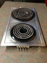 Jenn Air A100 2 Burner Electric Stove STAINLESS STEEL Cartridge