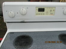 Whirlpool Electric Range Stove   Delivery Available
