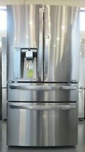 LG LMXS30776S   30 Cu Ft Stainless French Door Refrigerator