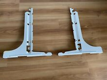 Whirlpool Kenmore Maytag Refrigerator Drawer Supports WPW10330993 WPW10330991