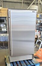 SUB ZERO 36  MODEL 601R S ALL REFRIGERATOR PERFECT STAINLESS DOOR LIST  7 895