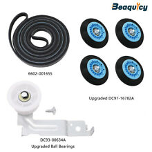 Upgraded Dryer Repair Kit for Samsung Dryer DC97 16782A Drum Roller by Beaquicy